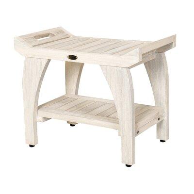 bench with shelf. Tranquility Coastal Vogue 24\ Bench With Shelf H