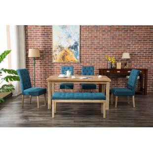 Galsworthy 6 Piece Dining Set by Bungalow..