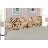 Casino Queen Upholstered Panel Headboard by East Urban Home