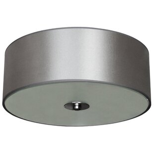 Brayden Studio Calverton 2-Light Flush Mount