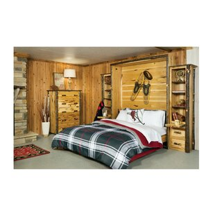 Loon Peak Rabago Hickory Queen Murphy Bed