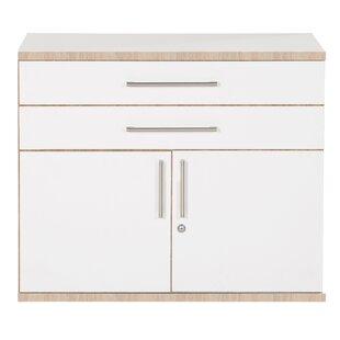 Adda 2 Door Storage Cabinet By Mercury Row