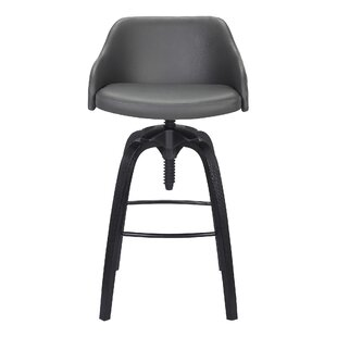Fasano Adjustable Height Bar Stool by Geo..