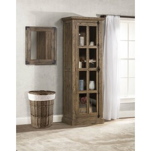 One Allium Way Orner Tall Single Door Accent Cabinet