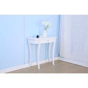 Caywood Wooden Console Table by Winston Porter