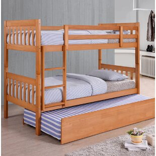 Dehesa Single Bunk Bed With Trundle By Harriet Bee