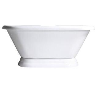Baths of Distinction Hotel Acrylic Freestanding Soaking Bathtub