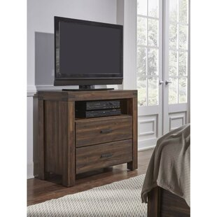 North Adams Wooden TV Stand by Three Posts