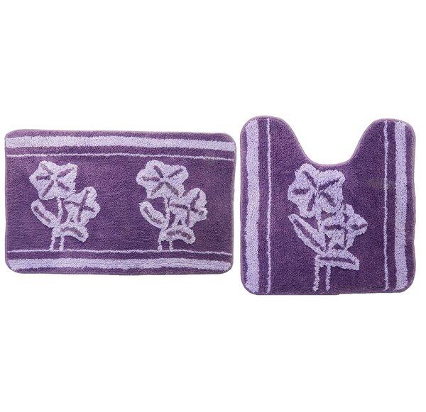 Dark Purple Bathroom Rug Wayfair