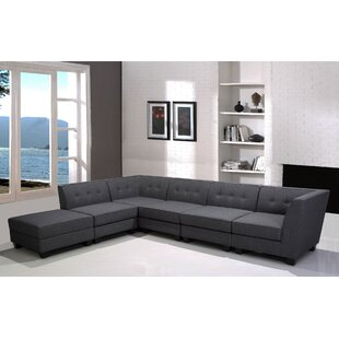 Trinh Modular Sectional with Ottoman
