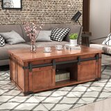 Shearson 4 Legs Coffee Table with Storage by Gracie Oaks