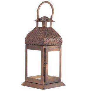 Antique Metal Lantern by World Menagerie