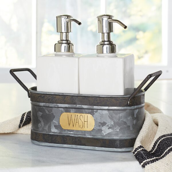 Kitchen Soap Dispenser Sets | Wayfair