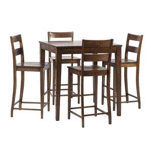 Panasonic Rustic 5 Piece Pub Table Set