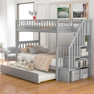 Twin Over Twin Bunk Bed With Trundle by Isabelle amp Max