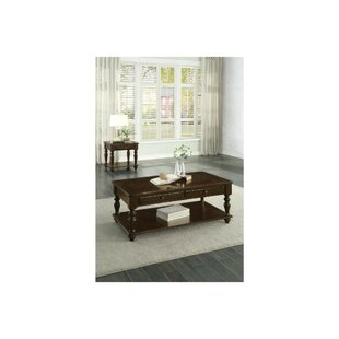 Aquinas 2 Piece Coffee Table Set