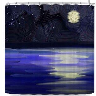 Cyndi Steen Starry Night Shower Curtain