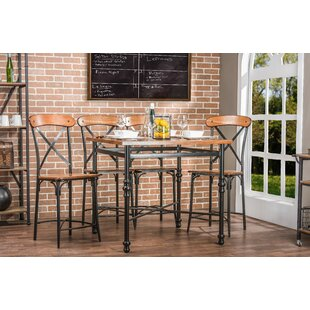 Marla 5 Piece Pub Table Set by..