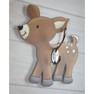 Deer Kids Wall Hook by Toad and Lily