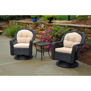 Gleeson 3 Piece Seating Group with Cushion