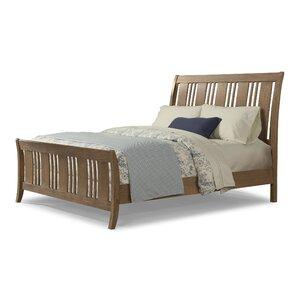 Huber Sleigh Bed by Loon Peak