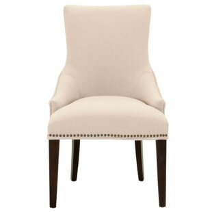 Mcgowan Wooden Upholstered Dining Chair Canora Grey