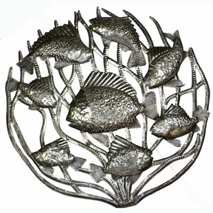 U0027Fish In Coralu0027 Wall Décor