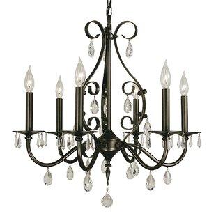 Astoria Grand Mallie 6-Light Chandelier