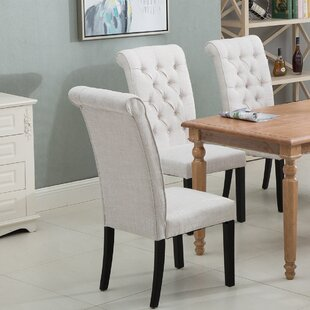Lamia Tufted Upholstered Dining Chair Set of 6