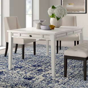 Duclos Extendable Dining Table Highland Dunes