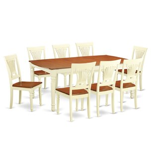 Carmel 9 Piece Dining Set by August Grove Great price