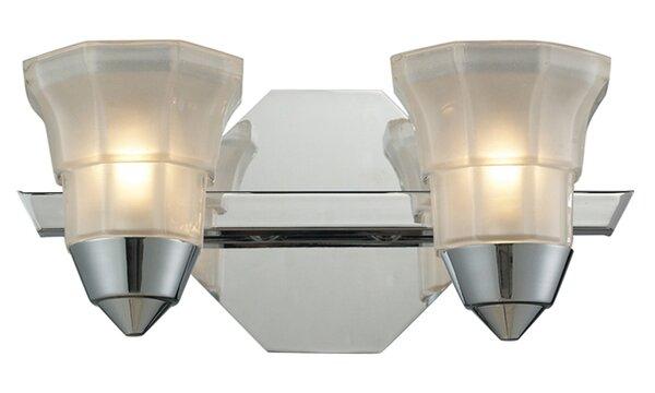 Winston Porter Wetzel 2 Light Vanity Light Wayfair