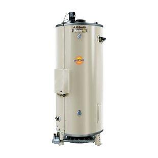 Commercial Tank Type Water Heater Nat Gas 85 Gal Master-Fit 390000 BTU Input Multiflue Model