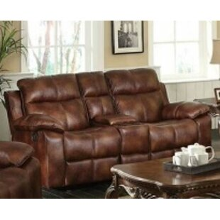 Shop Hallum Motion Reclining Loveseat by Alcott Hill