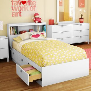 Ardin Twin Mate's & Captain's Bed with Drawers