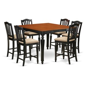 Ashworth 7 Piece Counter Height Dining Set by Darby Home Co