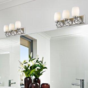 World Menagerie Sherrill 3-Light Bath Bar