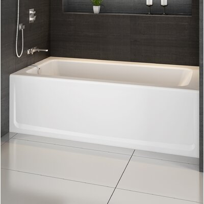 "Jacuzzi® Signature® 60"" x 36"" Alcove Bathtub in , Soaking Bathtub"