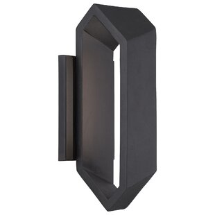 Brayden Studio Domingo LED Outdoor Sconce