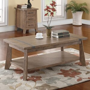 Crane Crayon Rectangular Coffee Table with M..