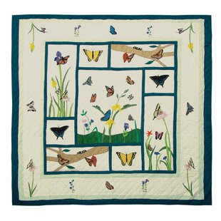 Butterfly Kisses Coverlet Collection by Patch Magic