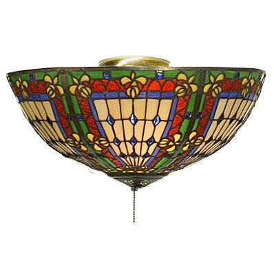 Bowl Ceiling Fan Light Kit Meyda Tiffany