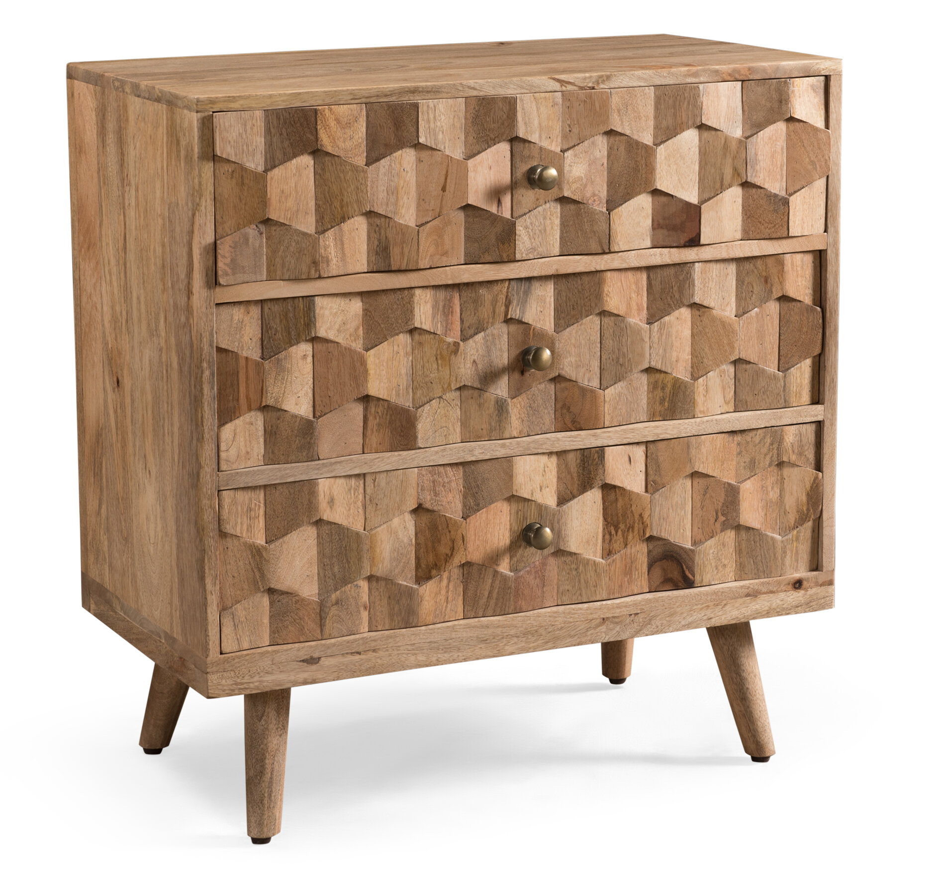 Westphal 3 Drawer Accent Chest Reviews Allmodern