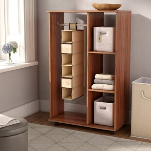Mcnear 6 Compartment 2 Drawers Clothes Storage System By Rebrilliant