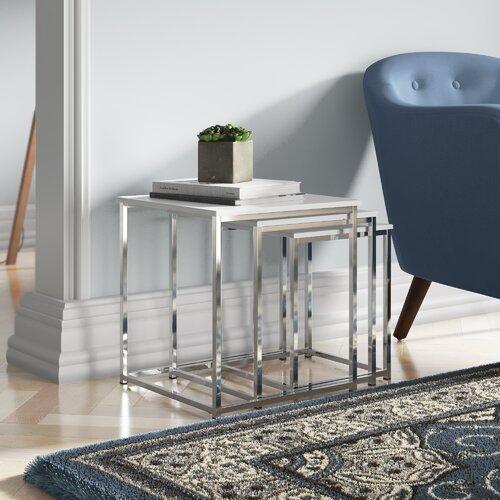 3-tlg. Satztisch-Set | Wohnzimmer > Tische > Satztische & Sets | House Additions