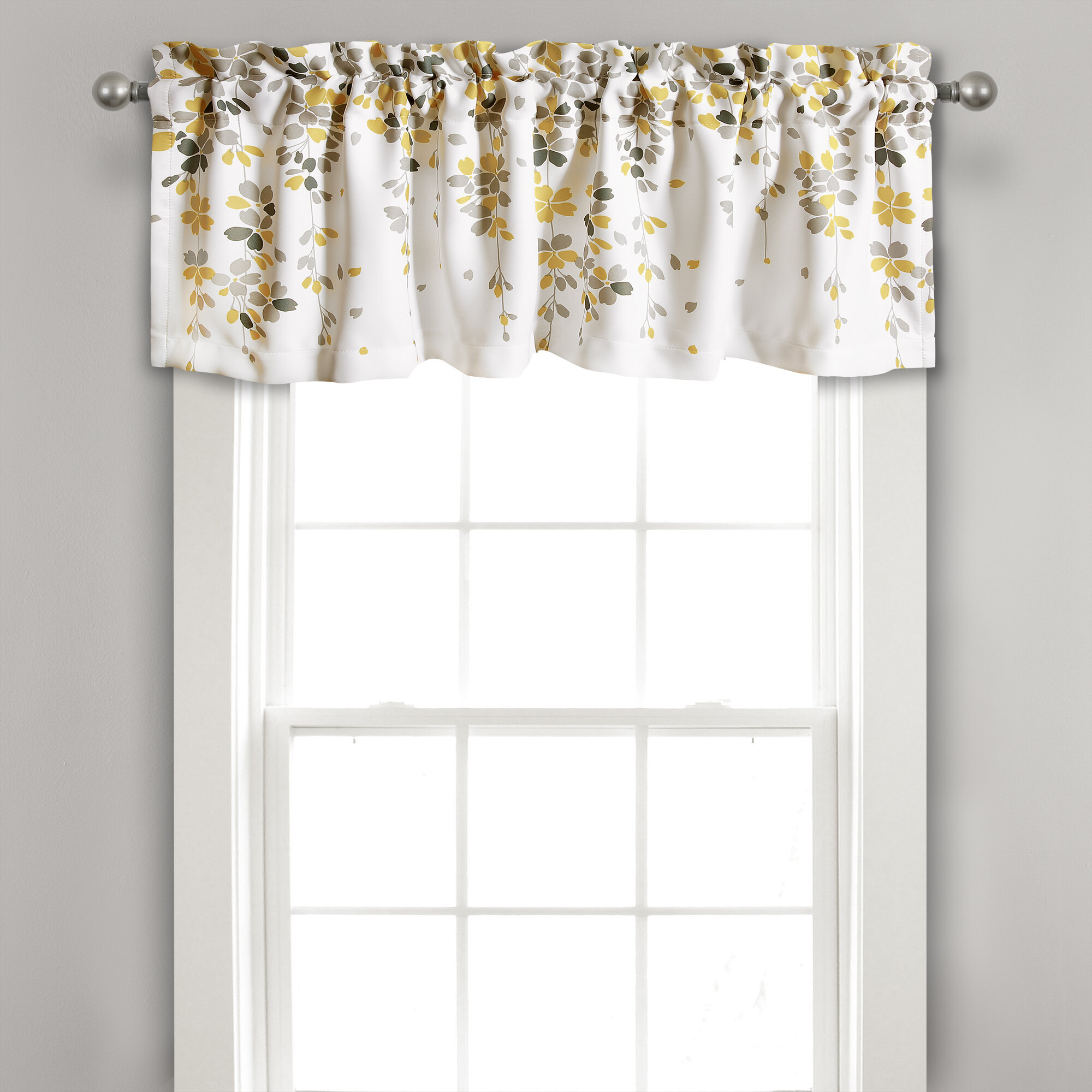 Yellow Gold Valances Kitchen Curtains You Ll Love In 2021 Wayfair