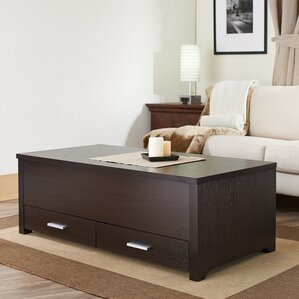 Kalani Contemporary Coffee Table by Mercury Row