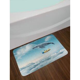 Whale Bath Rug