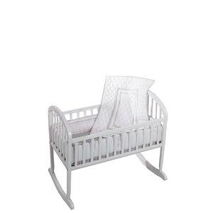 Bertie 3 Piece Cradle Bedding Set