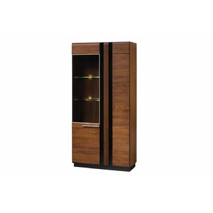 AmbrosinaLighted China Cabinet by Latitude Run